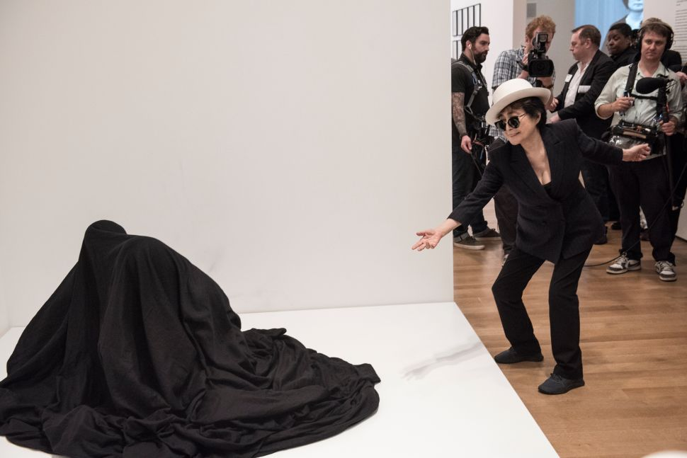 A Writer Climbs Naked in a Sack With a Stranger… at MoMA