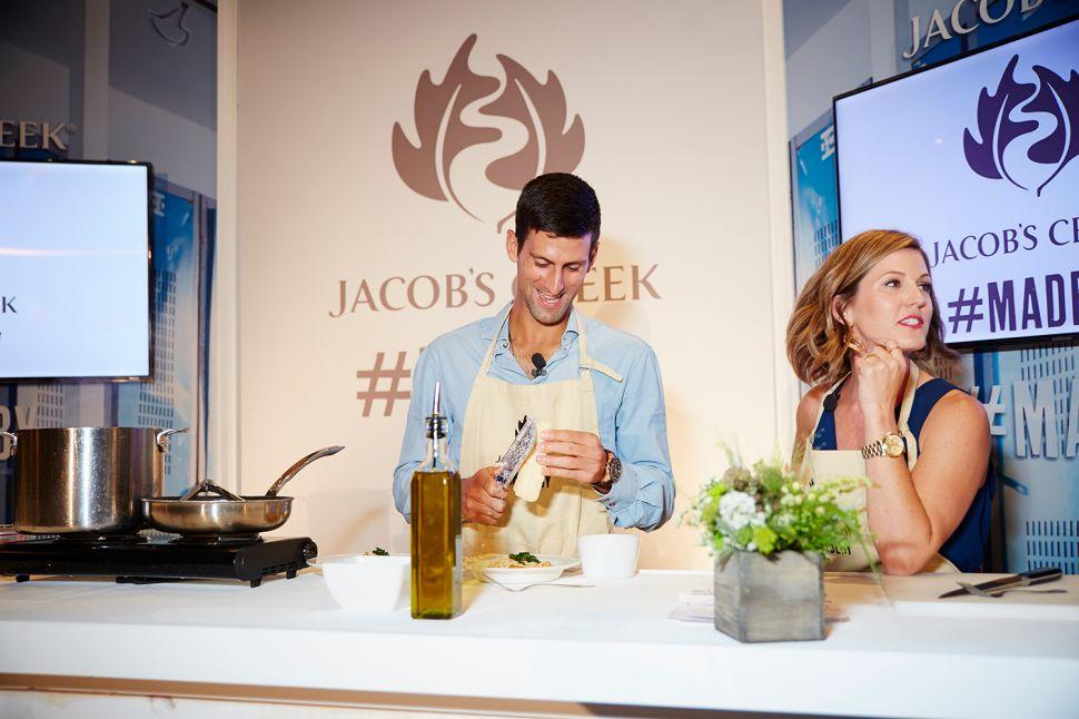 Novak Djokovic Serves Up the Spice