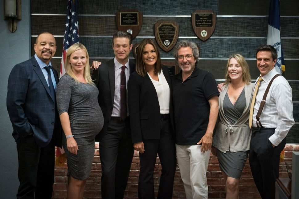 Mariska Hargitay, EP Warren Leight, and More Discuss 'Law & Order: SVU'