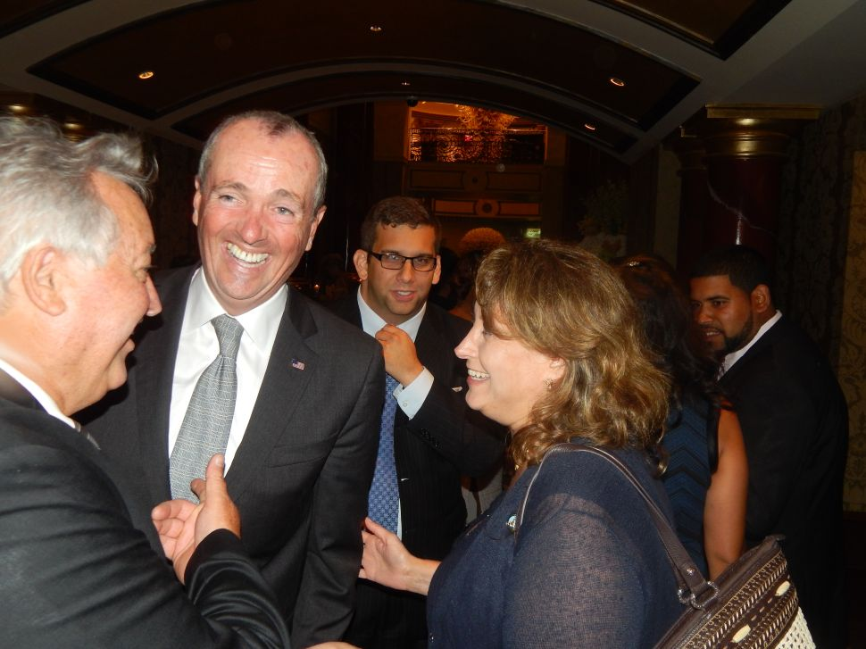 Murphy in Campaign Support Mode in Bergen