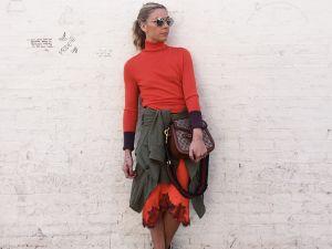 Intermix fashion director Gia Ghezzi strikes a pose (Photo: Courtesy).