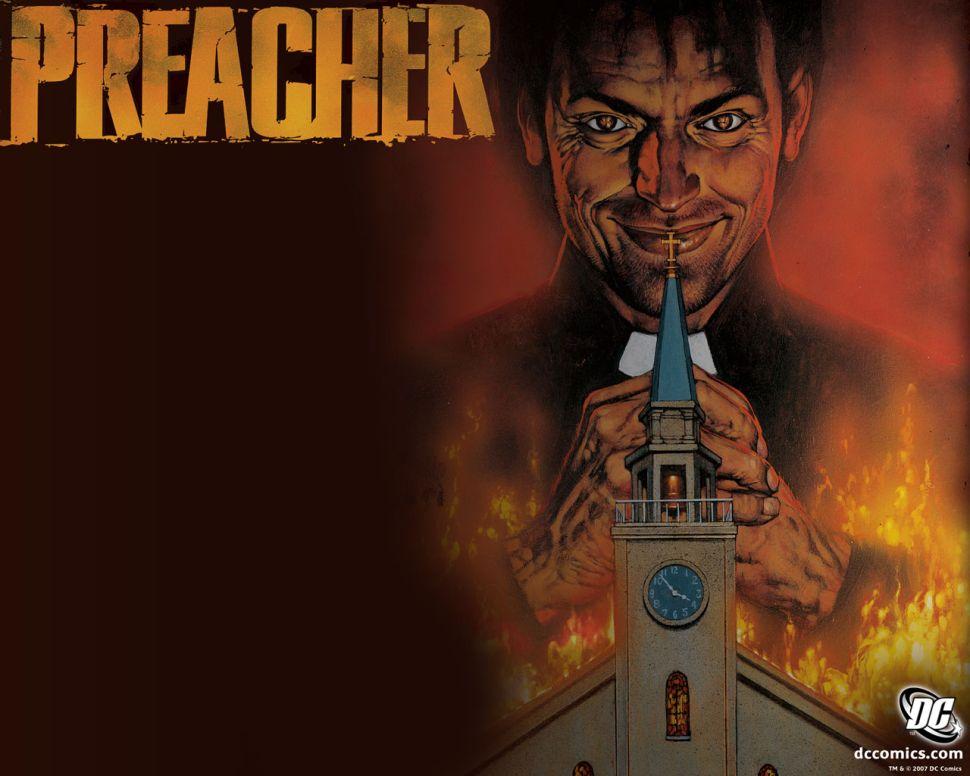 Seth Rogen's 'Preacher' Series Greenlit at AMC, Gets 2016 Premiere