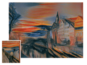 Could we see an Edvard Munch 'Scream-filter' one day?