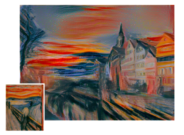 What If Instagram Had Filters Like 'Starry Night' or 'The Scream'?