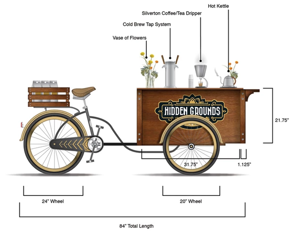 A Bike That Brews Coffee While You Peddle Is Next for This Beloved Café