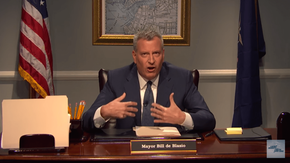 De Blasio to Rude Subway Riders: 'Pull Your Heads Out of Your Asses!'