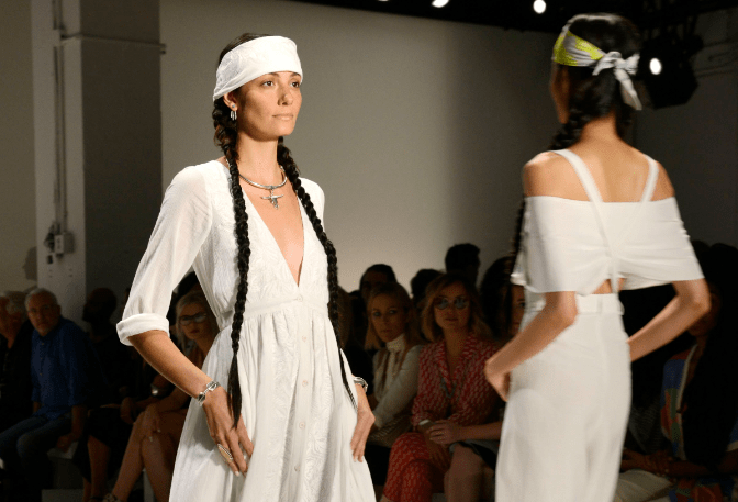 Willie Nelson Hits Fashion Week