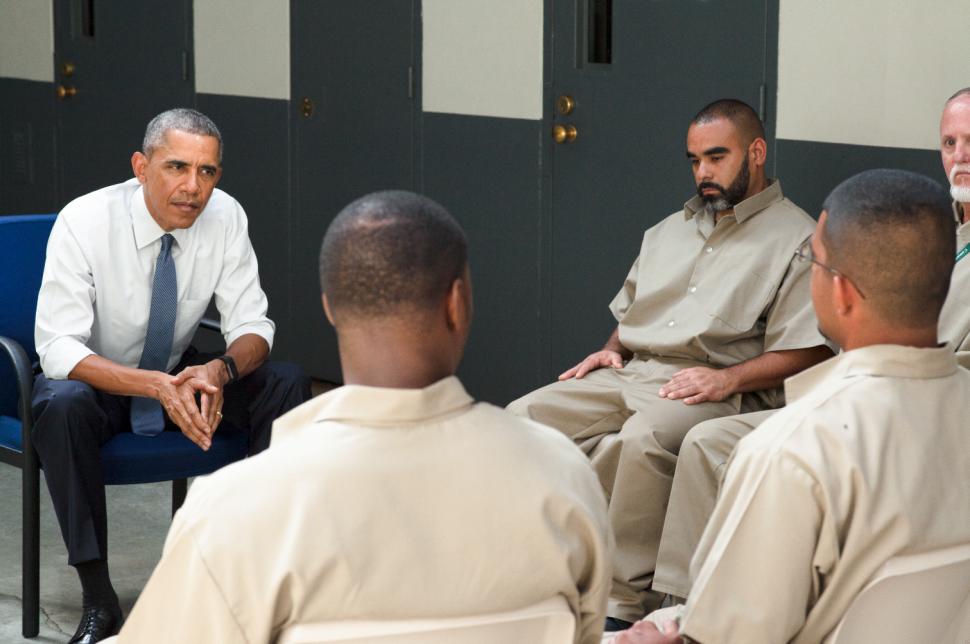 Watch This Sneak Peek of Obama Meeting Federal Inmates in Historic Prison Visit