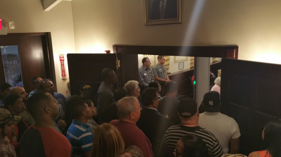 Denied Entry, Fiocchi Decries Cumberland County Freeholder Meeting