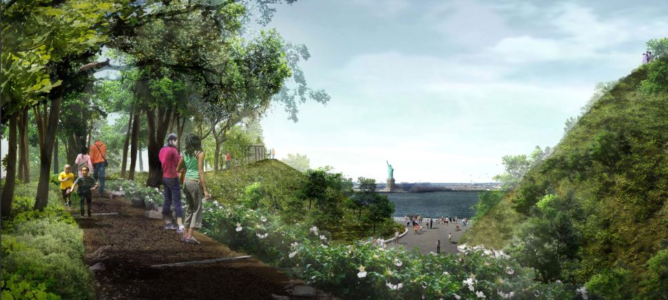A New Park Coming to Governors Island Promises Breathtaking Vistas