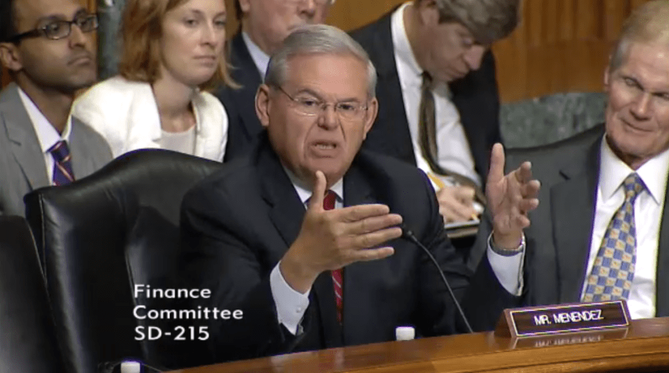 Menendez Speaks Before Senate Committees on Syrian Refugee Crisis and Puerto Rico