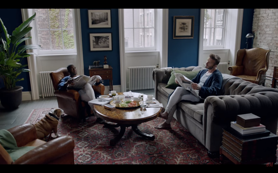 Anderson Cooper's Home Is the Backdrop for David Beckham's H&M Film