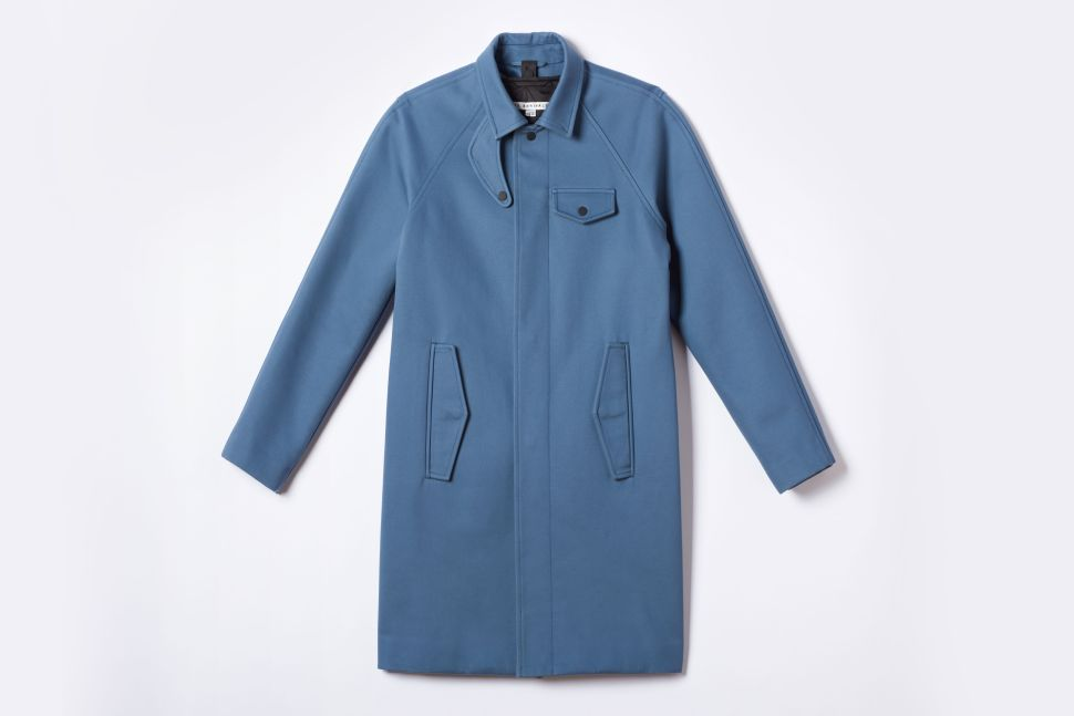 This Blue Coat Will Make a Great First Impression