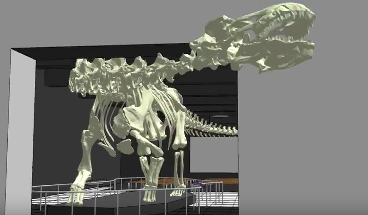 Titanosaur Invades New York!