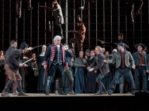 The Met's 'Il Trovatore'. (Courtesy, The Metropolitan Opera)