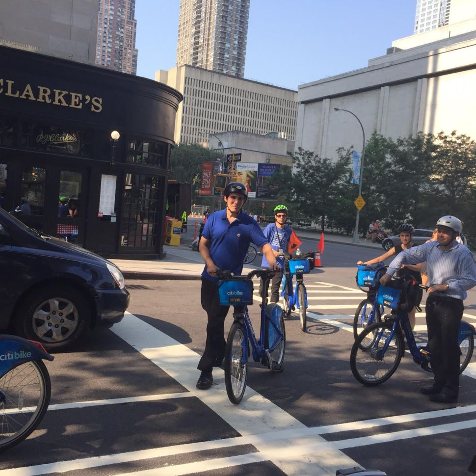 Citi Bike Stations Open On Upper East and Upper West Sides
