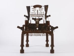 War Throne. (Photo: Courtesy Jack Bell Gallery)