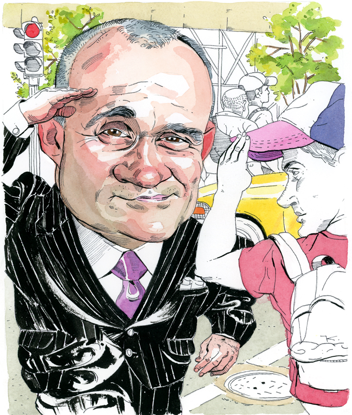 Ray Kelly Is Back, Shooting From the Lip