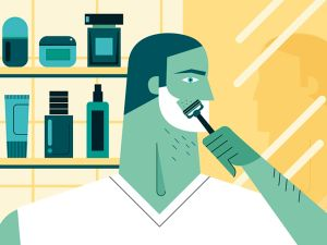 Try out a new razor, but don't forget to prep your skin beforehand. (Illustration: Veronica Grech)