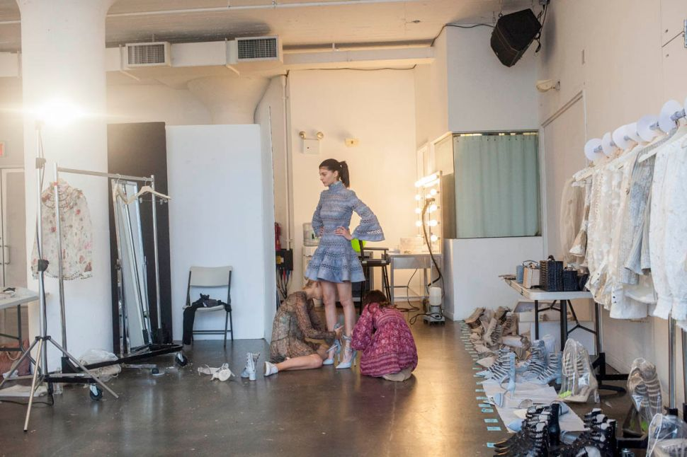 Photo Essay: Behind the Scenes of a Model Fitting With Zimmermann