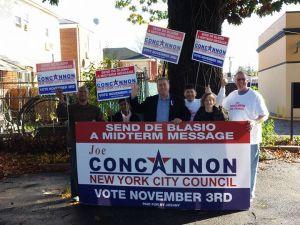 Republican Joseph Concannon and supporters (Photo: Facebook).