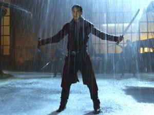 Daniel Wu as Sonny on AMC's Into the Badlands.