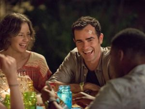A much happier Kevin Garvey in The Leftovers. (Showtime)