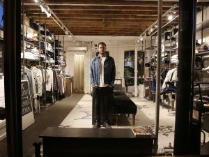 Pete Maiden in his Convicts shop space (Photo: Courtesy Convicts).