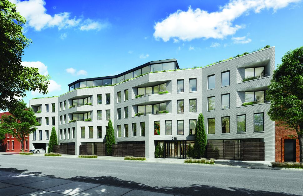 Luxury Condos Rising on Former Site of Prospect Heights Garage Launches Sales