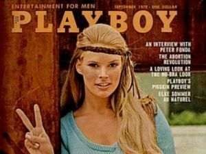 The cover of a 1970 issue of Playboy.