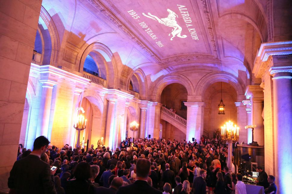 Dogs, Editors and Writers Turn Out for Knopf's 100th Anniversary Bash