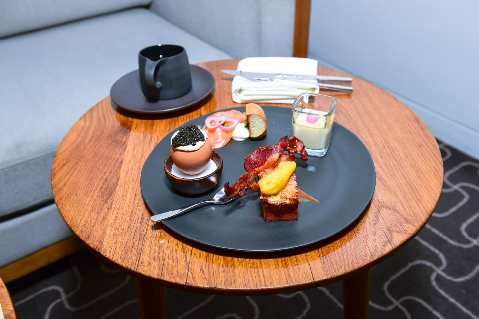 Chef Jean-Georges' Breakfast for Decorté Used Water From Japan's Mount Fuji