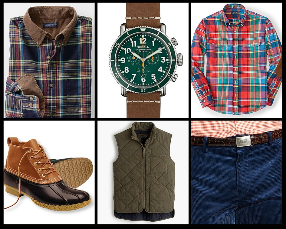 Men's Fall Fashion Checklist