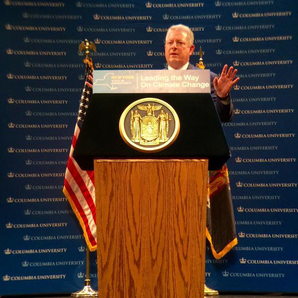 'We Are Winning': Al Gore Hails New York Greenhouse Gas Initiative