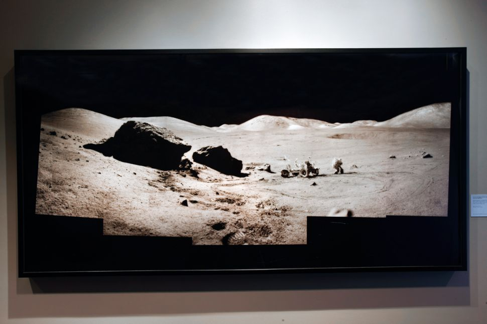Michael Light's Digital Masters of the Original Moon Photographs