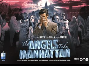 """10. """"The Angels Take Manhattan"""": Features companions Amy and Rory for the final time, and the Weeping Angels return (watch """"Blink"""" first)."""