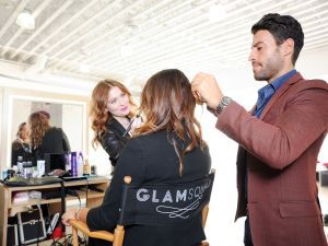 A Glamsquad appointment in action. (Photo: Glamsquad)