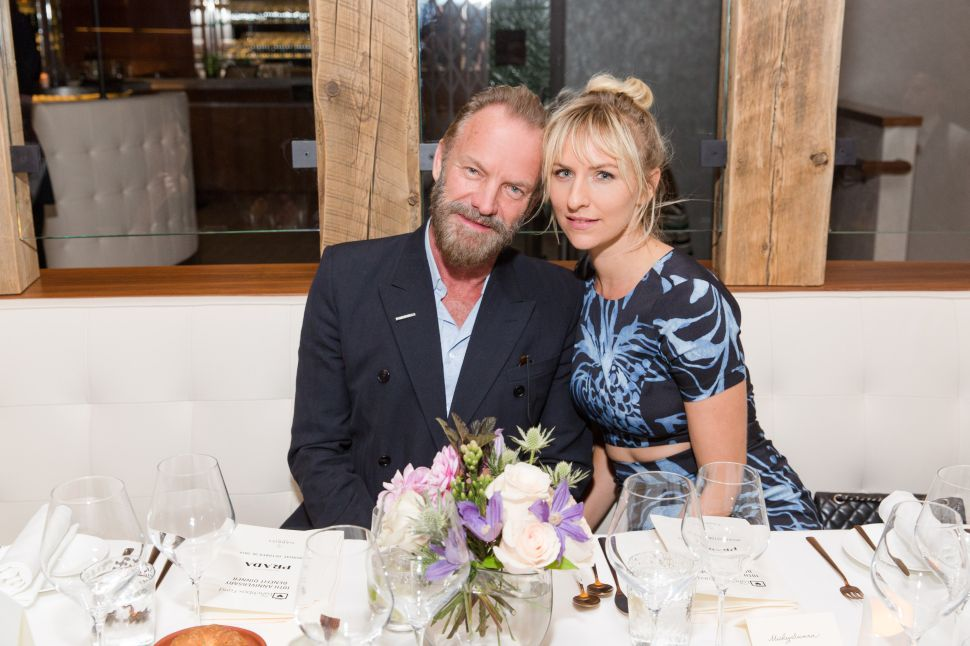 Sting Parts With Art Collection Via Christie's