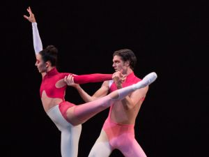 Brittany Pollack and Peter Walker in Justin Peck's New Blood. (Photo: Paul Kolnik)