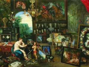 Jan Brueghel the Younger, The Five Senses: Sight. Courtesy of the Portland Art Museum and the Allen family collection.