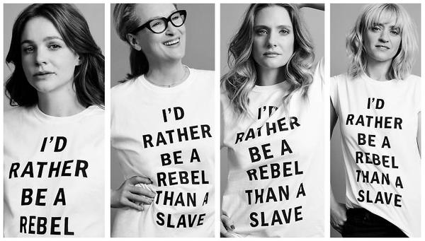 Meryl Streep and Carey Mulligan Under Fire Over 'Suffragette' T-Shirt