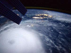 Hurricane Joaquin from International Space Station. (Photo: Scott Kelly via Twitter)