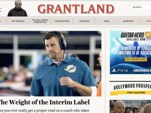 Grantland's final homepage. (Photo: Twitter)