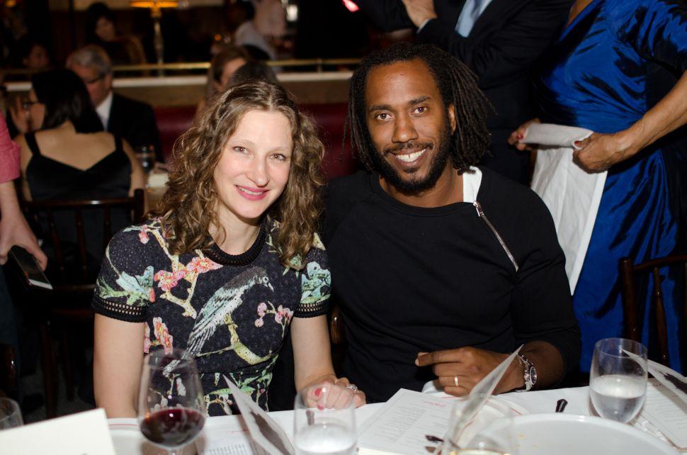 Art World Luminaries Toast Art Star Rashid Johnson at Dirty French