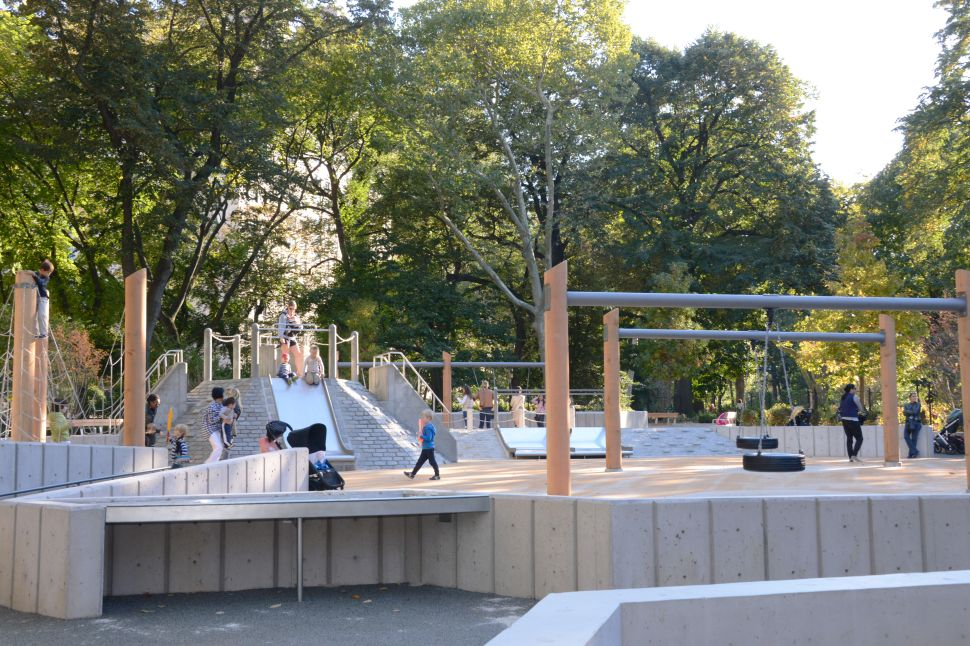 Rare Adventure Style Playground Re-Opens in Central Park