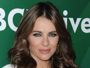 PASADENA, CA - JANUARY 15: Actress Elizabeth Hurley arrives at NBCUniversal's 2015 Winter TCA Tour - Day 1 at The Langham Huntington Hotel and Spa on January 15, 2015 in Pasadena, California. (Photo by Angela Weiss/Getty Images)