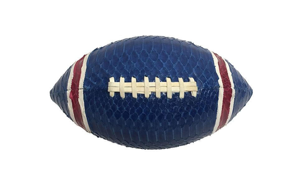 Add a Dose of Style to Football Season With This Snakeskin Ball