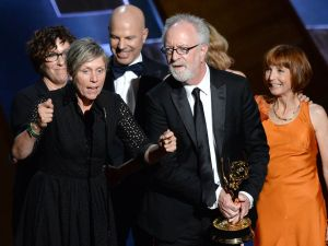 Olive Kitteridge sweeps Emmys with an (almost) all female team. (Photo by Lester Cohen/WireImage)