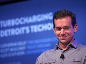 Jack Dorsey shared his hopes for the company's future in a series of tweets this morning. (Photo by Bill Pugliano/Getty Images)