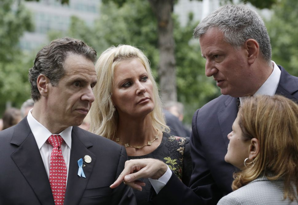 Cuomo Thinks de Blasio Owes His Board of Elections Appointee an Apology